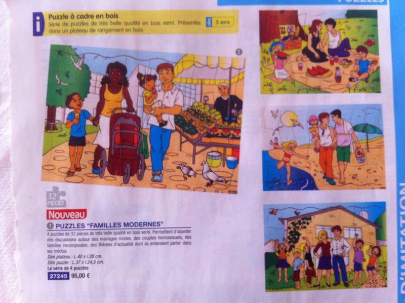 Des puzzles pour formater les tout petits l cole vigi for Catalogue de jardinage par correspondance